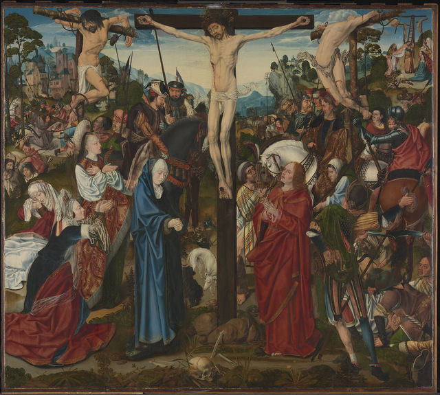 Master of the Aachen Altarpiece (active late 15th to early 16th century) The Crucifixion, about 1490 5 The National Gallery, London © The National Gallery, London