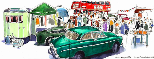 Classic Car Boot Sale Returns To Southbank Centre