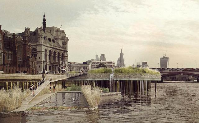 Thames Baths Project design by Studio Octopi