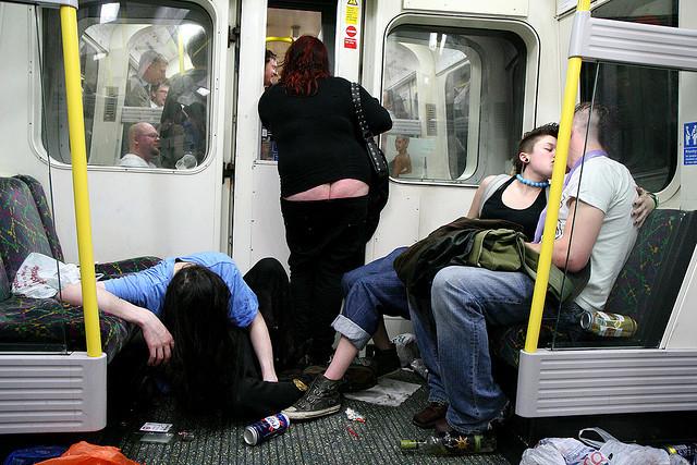 Tube Etiquette Poetry Hopes To Improve Travel Behaviour