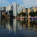 Outer Millwall Dock in Isle of Dogs by Richard Watkins via Flickr