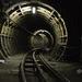 A westbound tunnel.