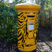 Tiger mailbox at London Zoo by Pikakoko