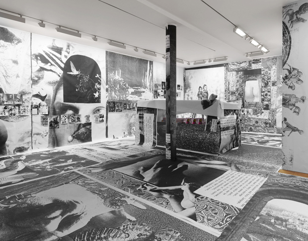 Marvin Gaye Chetwynd at Sadie Coles, installation view. Image courtesy the artist and Sadie Coles