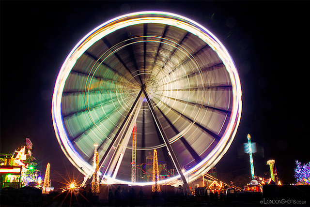 Winter Wonderland wheel by Londonshots UK on Flickr