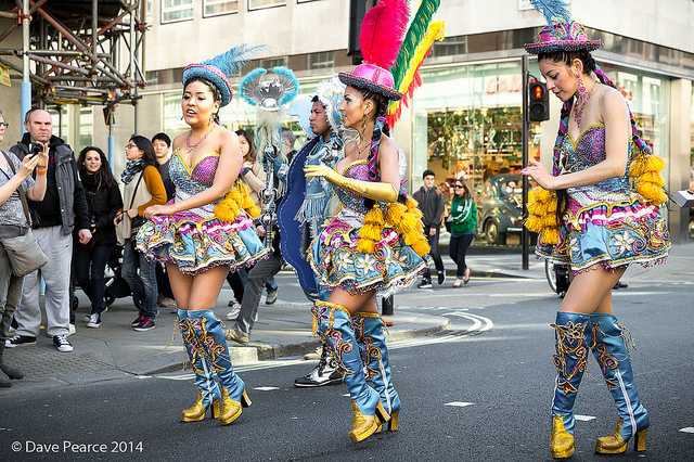 St Patrick's Day Parade, by Dave Pearce in Flickr