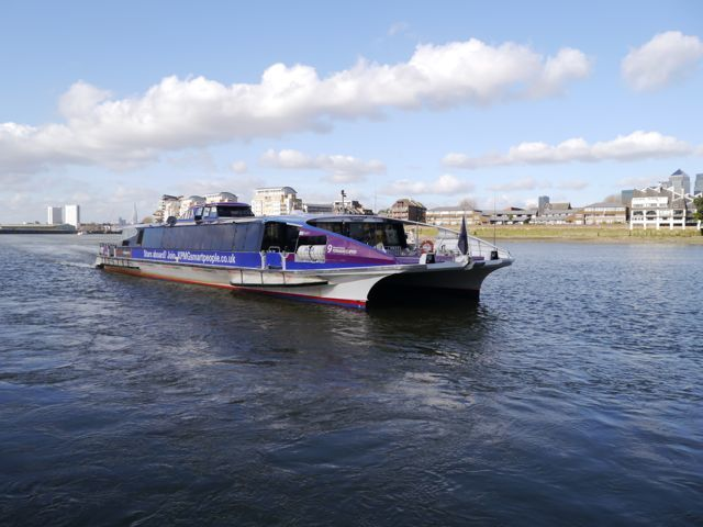 Roaming The River With Thames Clippers