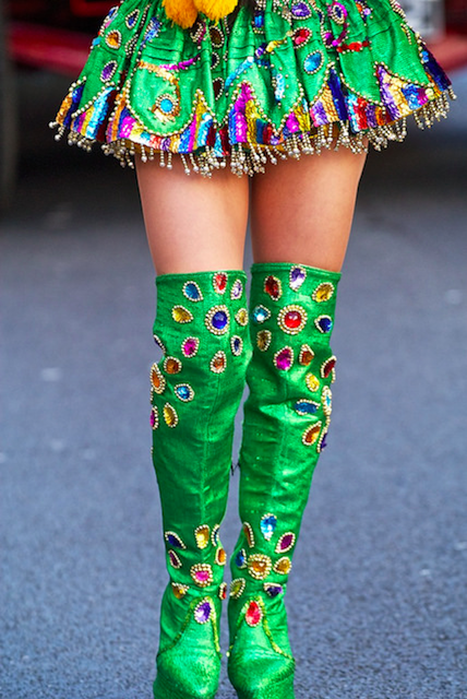 Colourful costume by Massimo Usai on Flickr