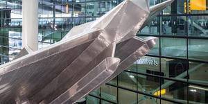 Heathrow Gets New Richard Wilson Sculpture
