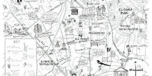 Hand-Drawn Maps: A London Country Diary