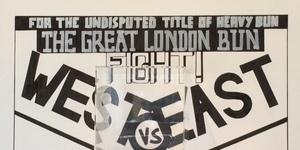 East Meets West In Great London Bun Fight
