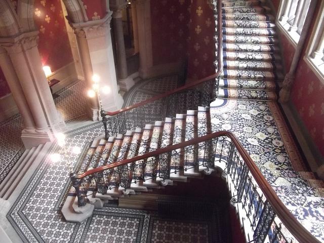St Pancras staircase