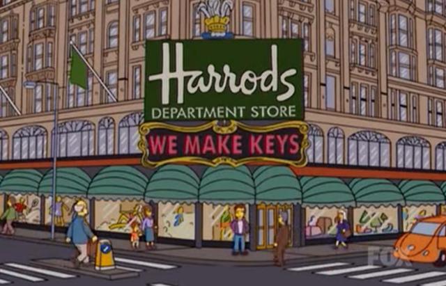 SimpsonsHarrods