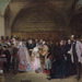 Dividend Day at the Bank of England by George Elgar Hicks