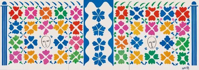 Henri Matisse, Large Composition with Masks 1953 National Gallery of Art, Washington. Ailsa Mellon Bruce Fund 1973.17.1 Digital Image: © National Gallery of Art, Washington Artwork: © Succession Henri Matisse/DACS 2014