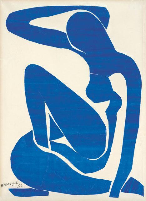 Henri Matisse, Blue Nude (I) 1952 Foundation Beyeler, Riehen/Basel Photo: Robert Bayer, Basel © Succession Henri Matisse/DACS 2013
