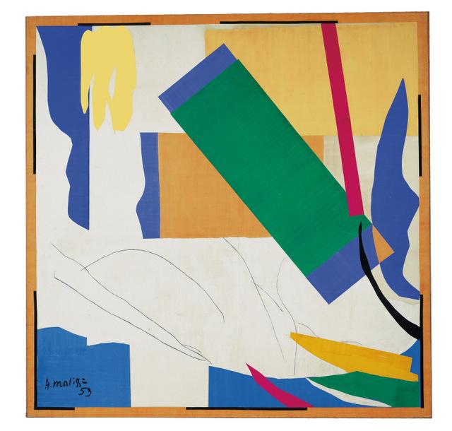 Henri Matisse, Memory of Oceania 1952-3 MoMA Digital image: © 2013. The Museum of Modern Art, New York / Scala Florence Artwork: © Succession Henri Matisse/DACS 2014