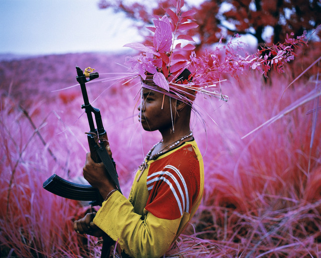 Richard Mosse Safe From Harm, North Kivu, eastern Congo, 2012 © Richard Mosse Courtesy of the artist and Jack Shainman Gallery