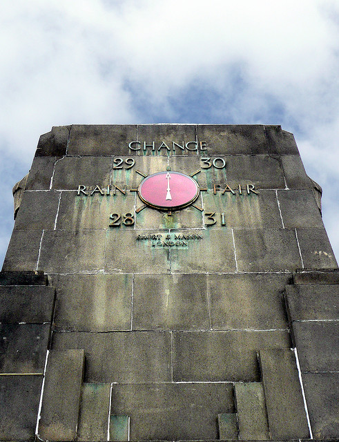 Barometer, Chingford Mount, by Fin Fahey