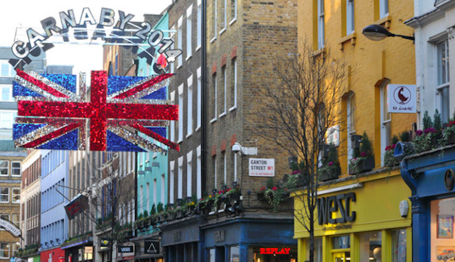 Visit The Carnaby Street Shopping Party