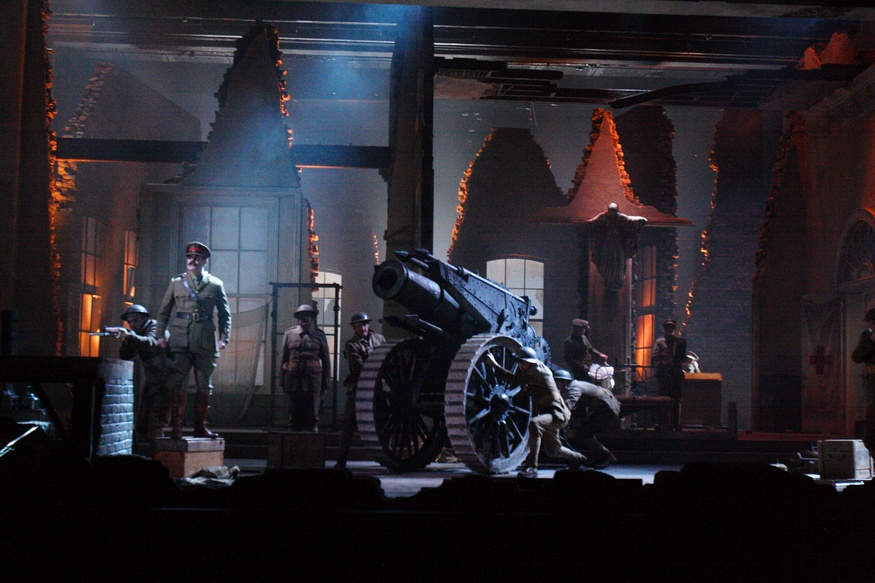 The Silver Tassie: Surreal First World War Drama At The National Theatre