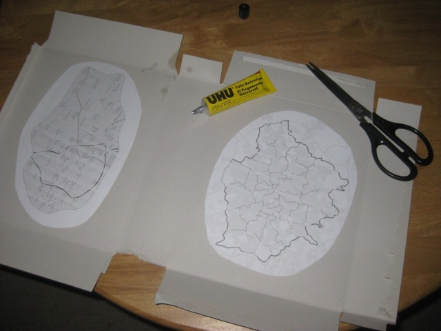 Our own attempts to find the centre of London, back in 2010, involved paper and glue.