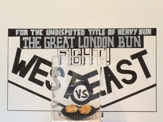 East Meets West In Great London Bun Fight