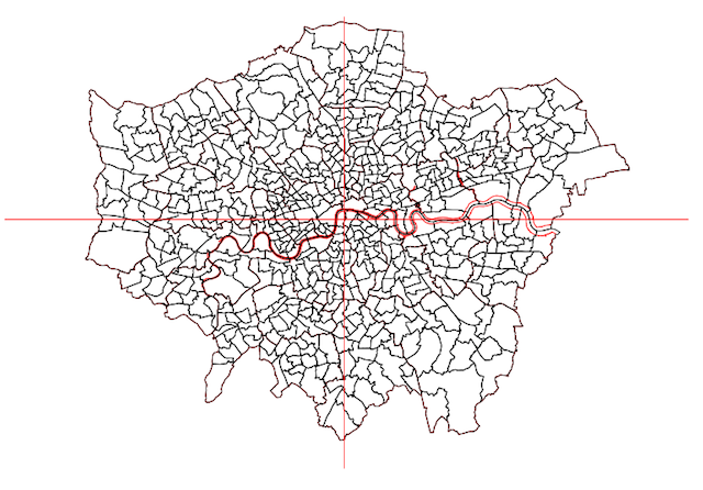 The Exact Centre Of London Isn't Where You Think It Is