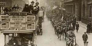 London Transport In WW1: Goodbye Piccadilly