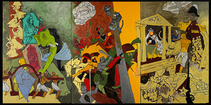 Museum Without Walls: MF Husain At The V&A