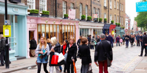 Seven Dials Goes Traffic Free for Spring Shopping Festival