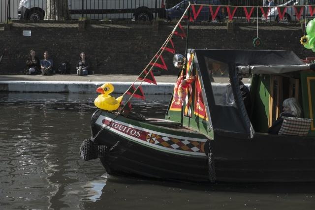 Narrowboat canal festival