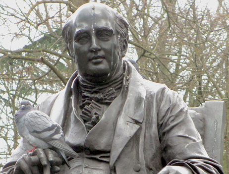 Henry Holland and pigeon friend