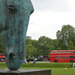 This horse sculpture by Nic Fiddian-Green stands snout-down beside Marble Arch. At over 10 metres high, it's probably the largest decapitated equine sculpture on a traffic island anywhere in the world. Spectacular. But we can't help thinking of The Godfather.