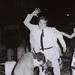 Franco Nero assaulting Rino Barillari at the Trevi Fountain, 1965, by Marcello Geppetti. MGMC & Solares Fondazione delle Arti