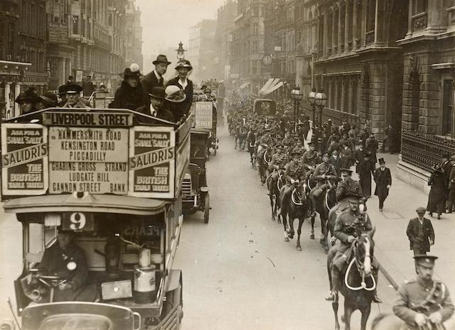 London Transport In WW1: Goodbye Piccadilly