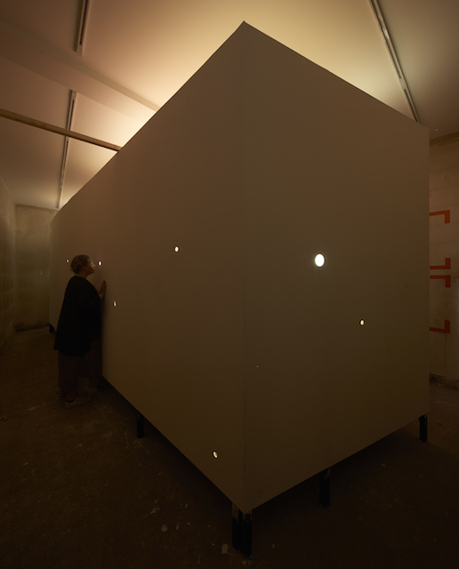Looking inside the white cube