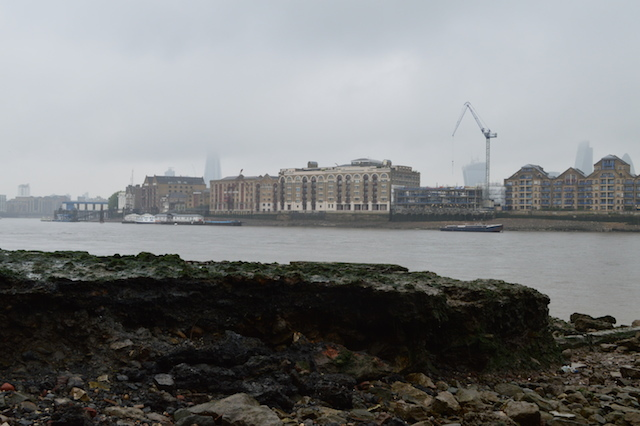 Look out for raised structures such as this. They're centuries-old man-made jetties packed with rubble and detritus.