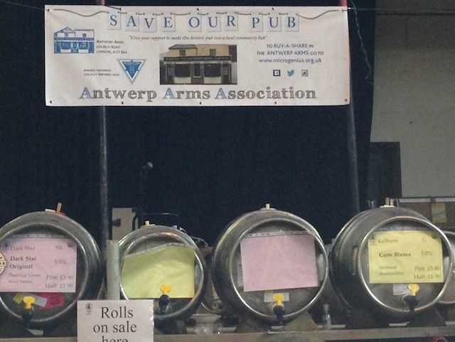 At the London Beer and Cider Festival earlier this year