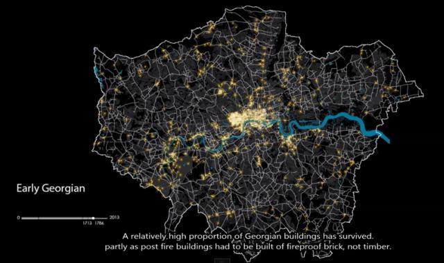 Watch London Evolve In This Animation