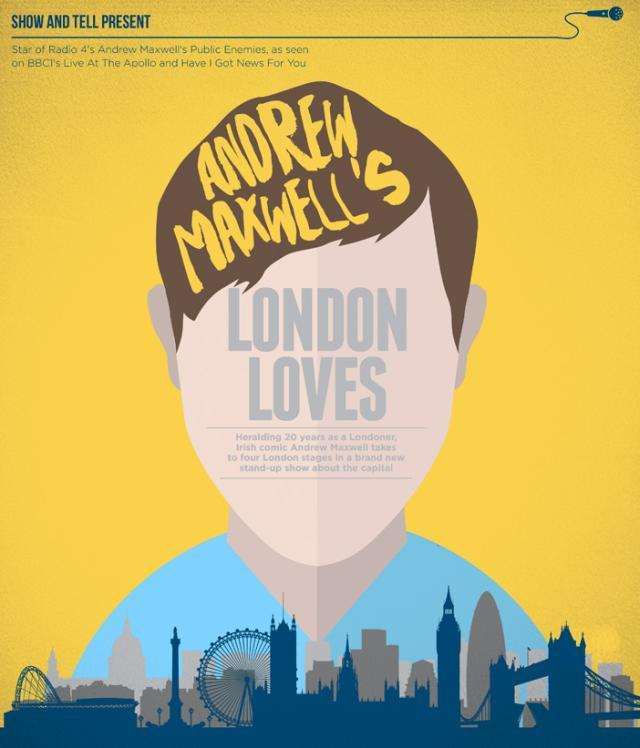 London Comedy: Andrew Maxwell, Robin Ince, Dead List And Puns