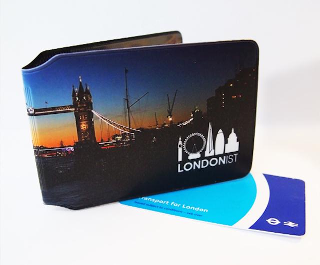 Londonist Oyster Card holder, front side