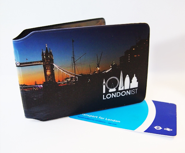 Londonist Oyster Card Holder - Front