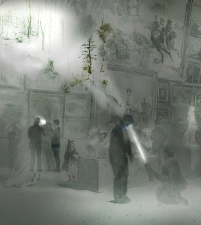 Symphony of a Missing Room at Royal Academy