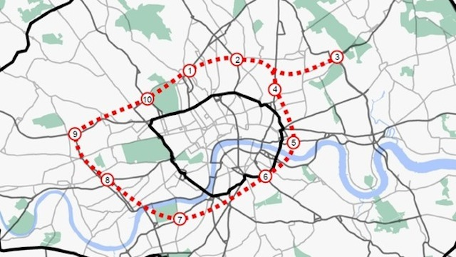 Plans For A 22-Mile Ring Road Beneath London