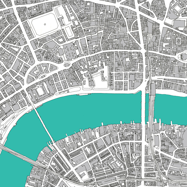 New Hand-Drawn Map Of Central London