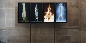 Bill Viola's Martyrs At St Paul's Cathedral