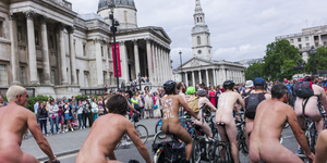 World Naked Bike Ride 2014 In Pictures