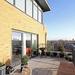 Contemplate the London skyline from this roof terrace in Hackney