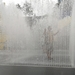 The Appearing Rooms Fountain by Jeppe Hein.